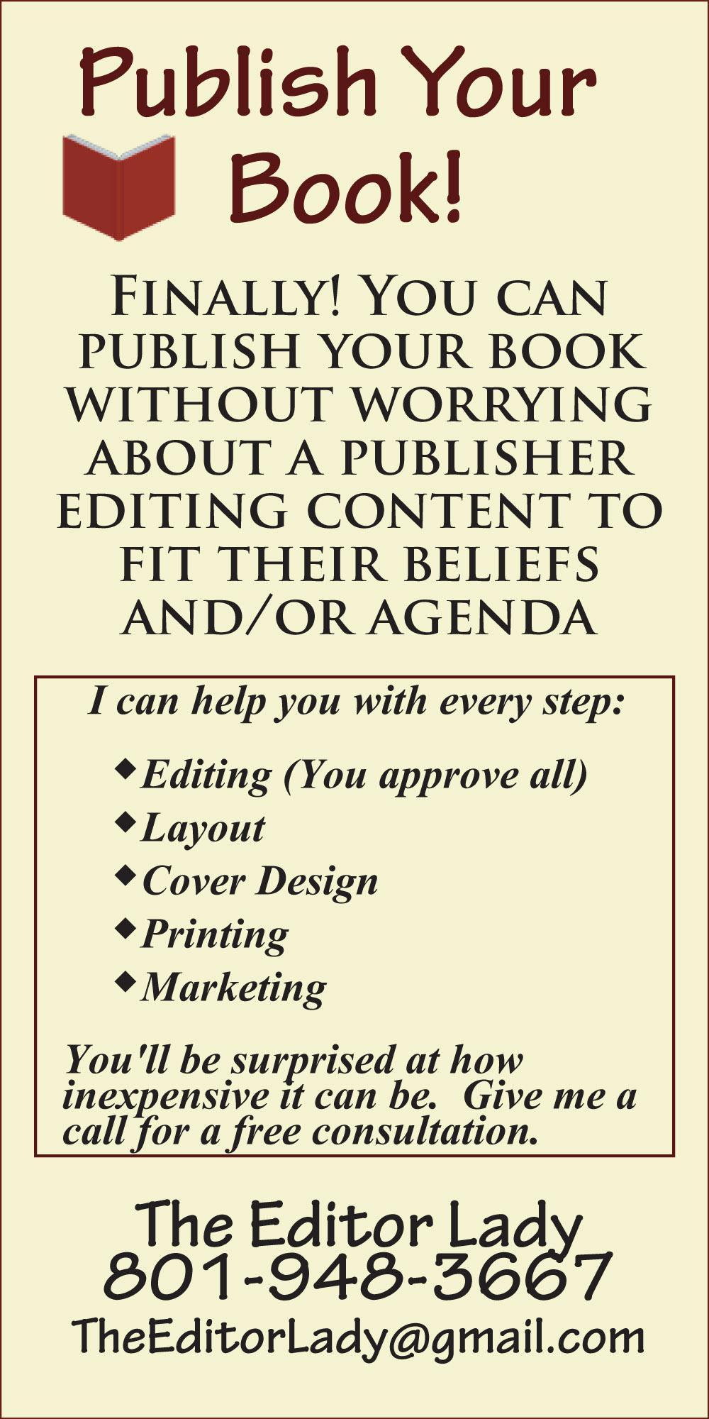 Editor Lady Web Banner